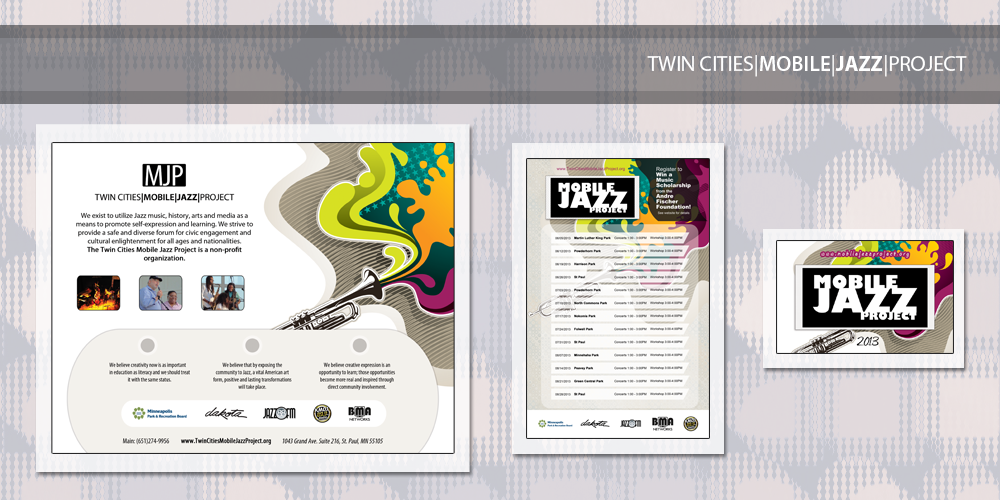 Brand Development | Twin Cities Mobile Jazz Project