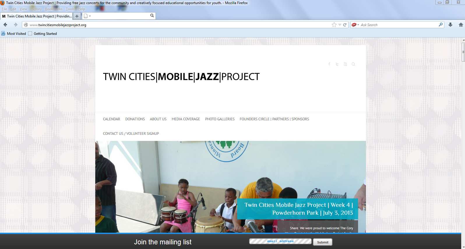 TCMJP-Website -Snapshot